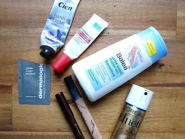 Aufgebraucht 3 - Kosmetik und mehr