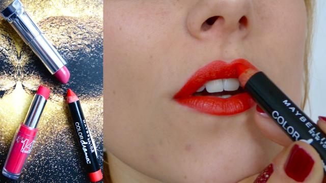 Maybelline Lipstick Week Colodrama Fab Orange