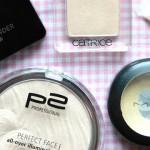 Highlighter Vergleich p2 Catrice MAC etos